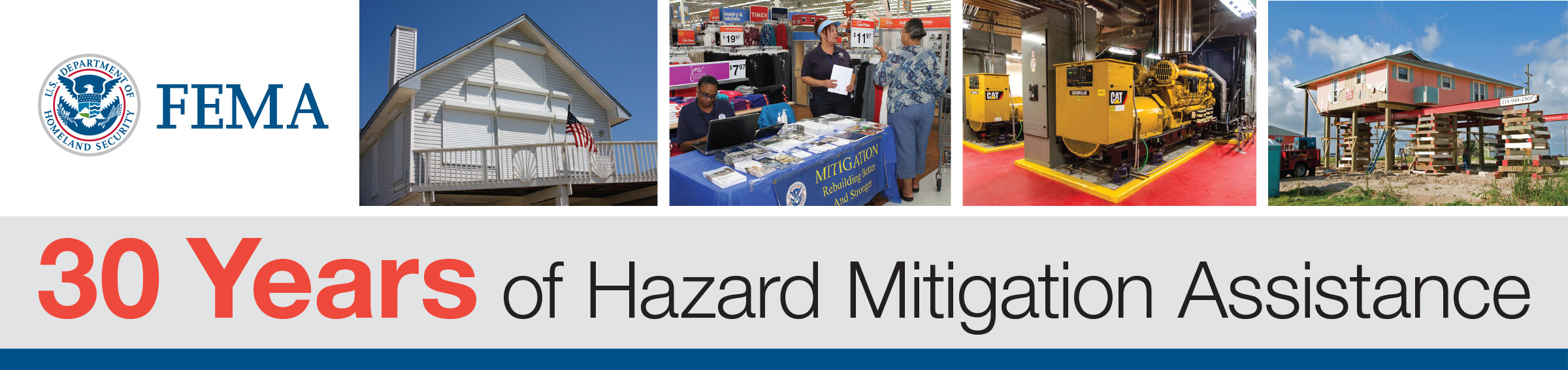 30 Years of Hazard Mitigation Assistance
